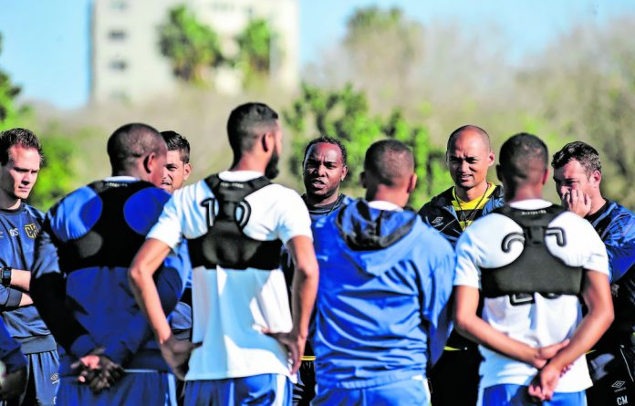 Cape Town City FC players are kitted out in Viper Pod vests that monitor their performance and the data is used to improve their game.