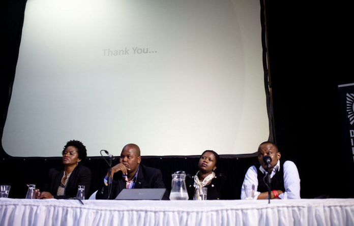 The FPB panel discussion.