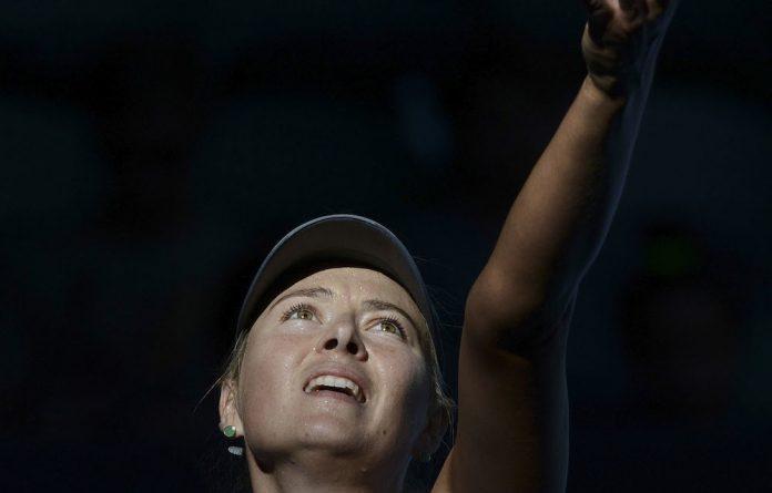 Five-times grand slam champion and tennis star Maria Sharapova.