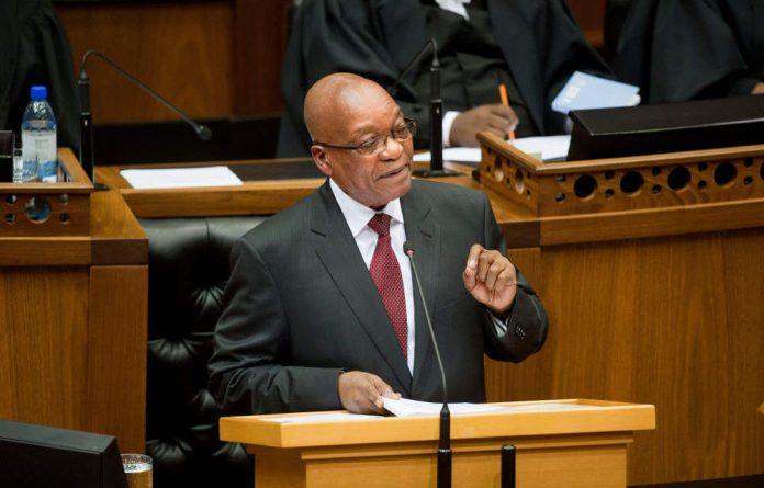President Jazob Zuma.