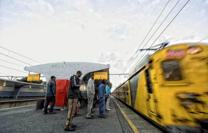'The problems at the Passenger Rail Authority of South Africa