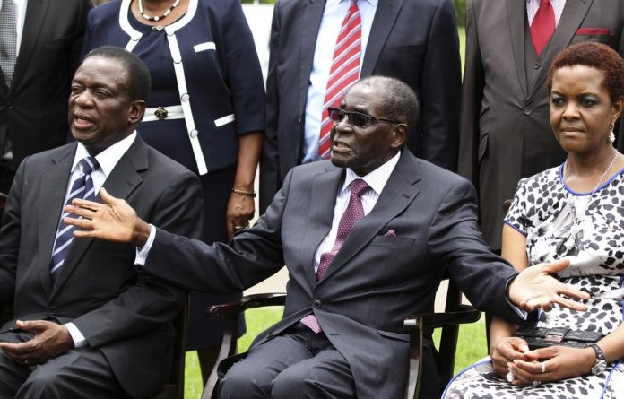 Mnangagwa is one of the two ministers who were pushed out