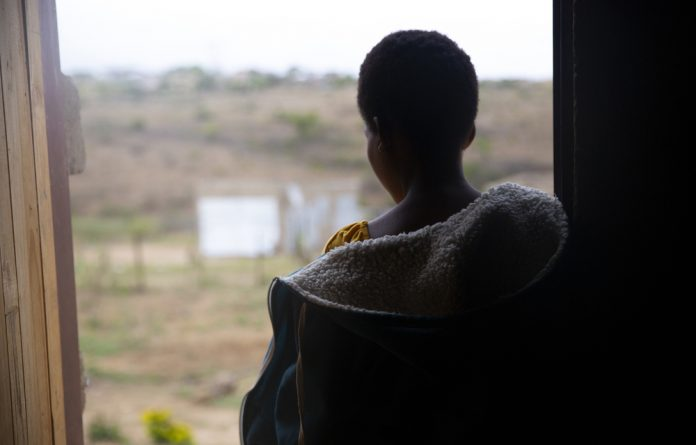 Angela Baloyi no longer sleeps in the room she shared with her five-year-old brother after a man snuck in one night and raped her. She was eight months' pregnant.