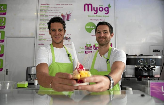 Making frozen yoghurt cool: Joris Hadjadj and Jean-Eric Leblanc