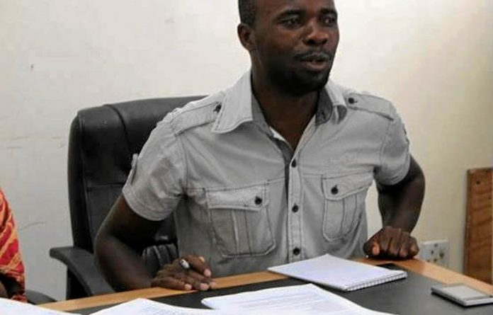Abducted: Itai Dzamara has been a vocal critic of the regime.