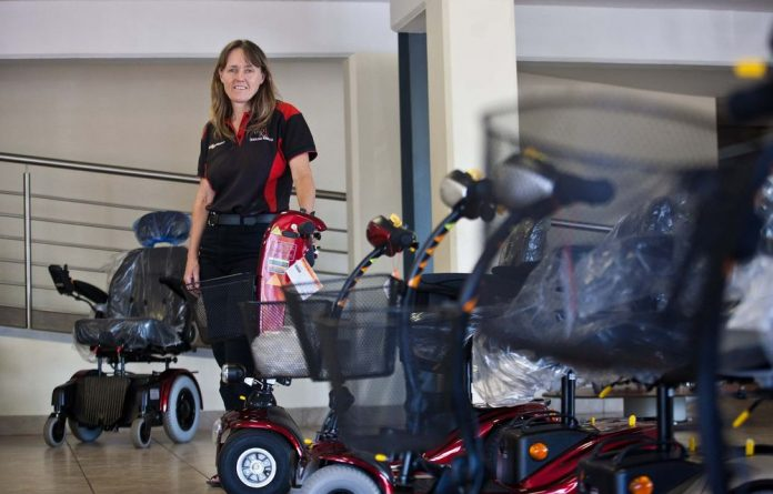 Caroline Rule is passionate about the mobility of the disabled.