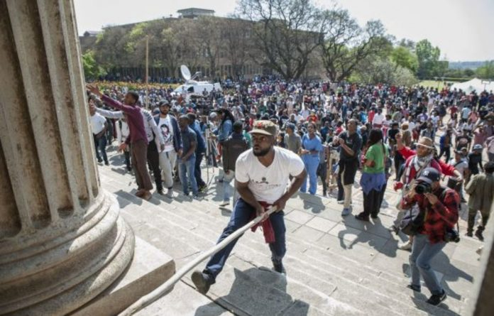 Morris Masutha led protests at Wits in 2016. Now