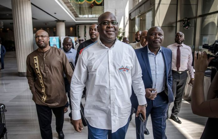 The provisional winner of the DRC's December 30 election