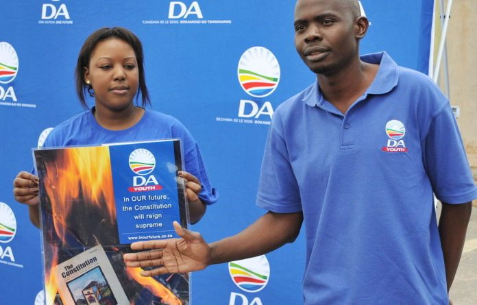 News of Makashule Gana's possible play for the second top spot in the party broke on Twitter on Tuesday thanks to DA youth leader Mbali Ntuli
