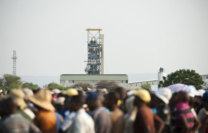 Women make up just 10% of the workforce in South African mines