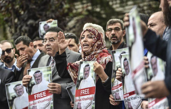 Nobel peace prize laureate Yemeni Tawakkol Karman