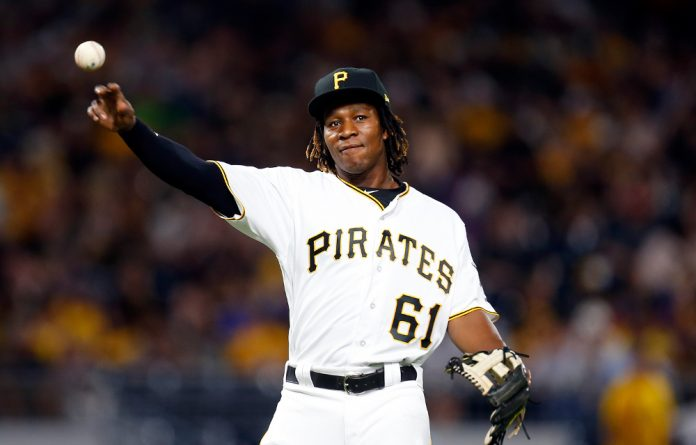 Pittsburgh Pirates player Gift Ngoepe.