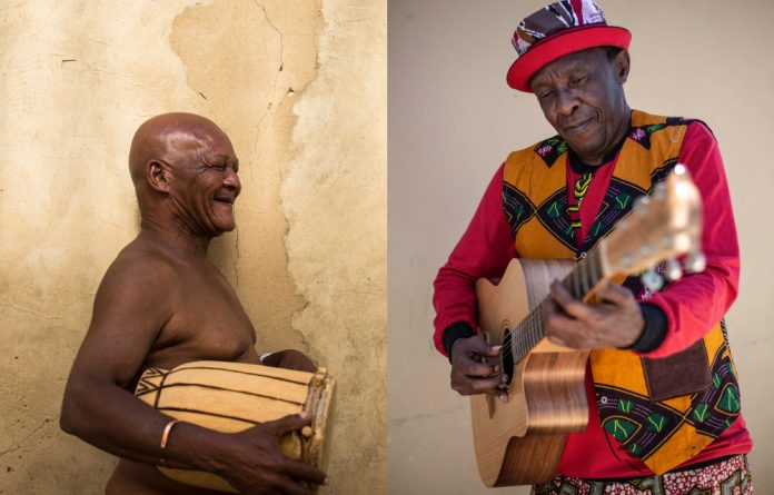Golden collaboration: Mabi Thobejane and Madala Kunene's friendship began with a mutual admiration of one another's musical styles. Photos: Delwyn Verasamy and Rogan Ward