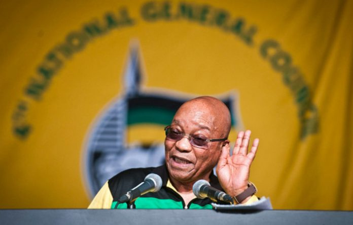 President Jacob Zuma. Picture: Delwyn Verasamy/Mail & Guardian