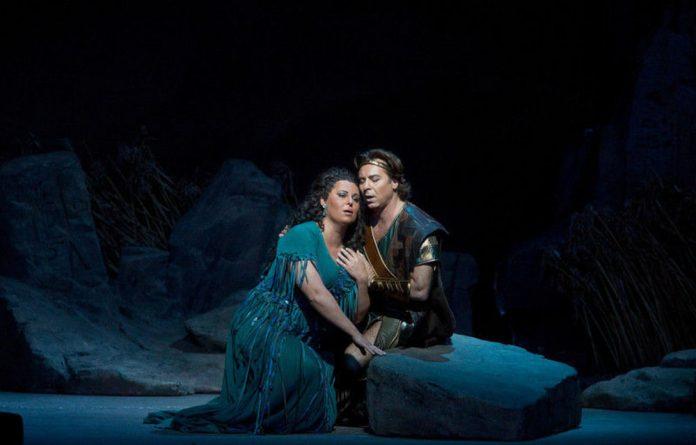 A scene from Verdi's Aida.