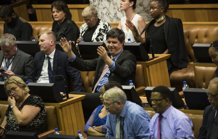 Tuesday's debate in Parliament saw lines being drawn around the issue of land expropriation without compensation