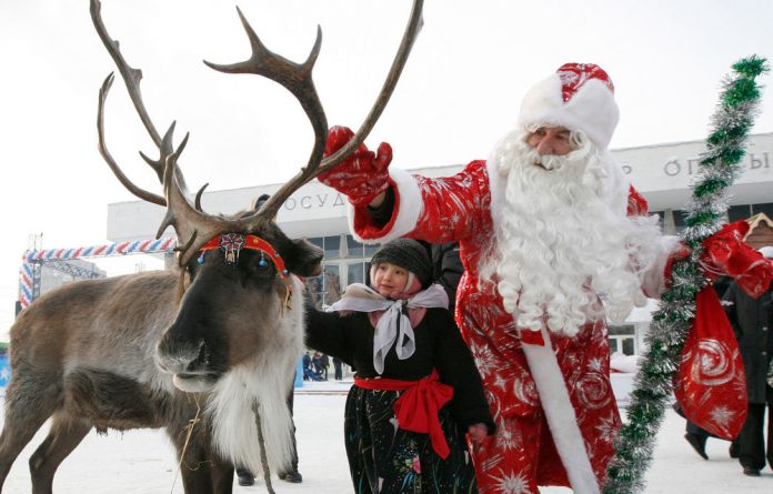 Children call the US Air Force base asking where fAther Christmas is and when he will deliver presents to their house