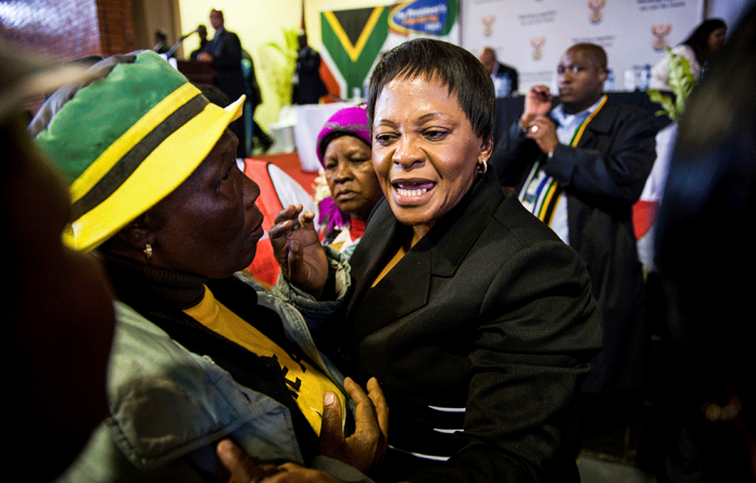 Nomvula Mokonyane says the ANC's Gauteng leadership is out of step with the majority of the provinces on President Jacob Zuma.