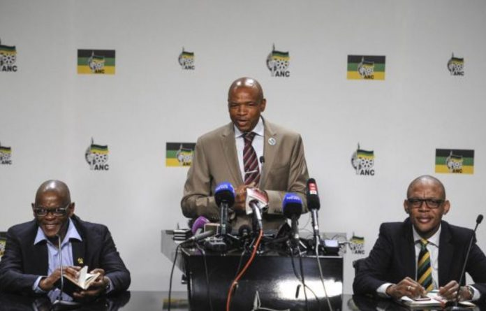 """Mahumapelo says Ramaphosa supporters will put the ANC at """"risk"""" by calling for a recount."""