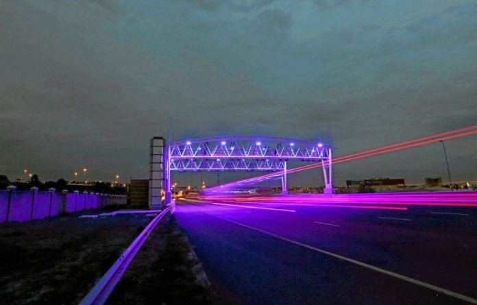 The government launched the widely unpopular e-tolls around the economic hub of Johannesburg in December.