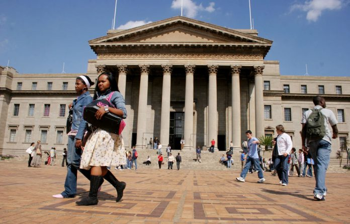 Students at Wits University are protesting to express their dissatisfaction with university management.