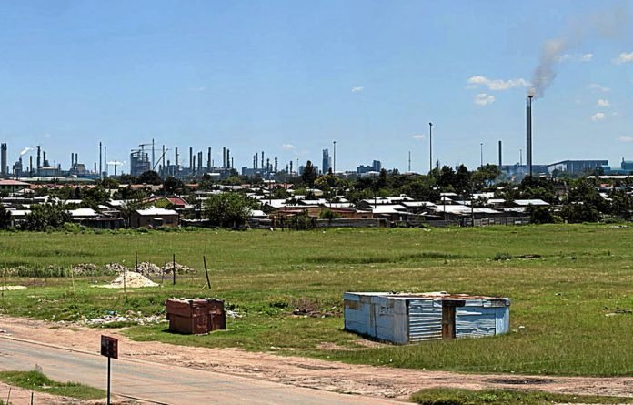 Zamdela was built to house Sasolburg's black workers in the 1950s.
