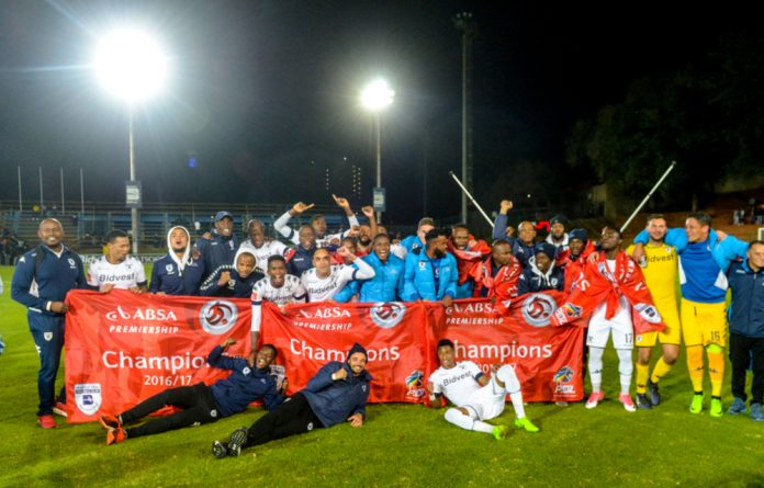 Wits are the 2016/17 PSL champions after the Absa Premiership match between Bidvest Wits and Polokwane City at Bidvest Stadium.