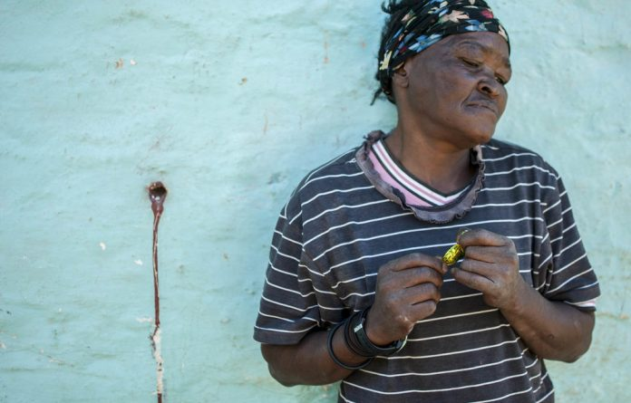 In perspective: Niamh Walsh-Vorster's 'naively taken' photograph of a woman in Nieu-Bethesda