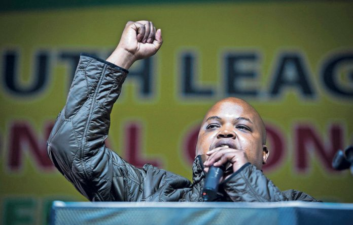 The new ANC Youth president