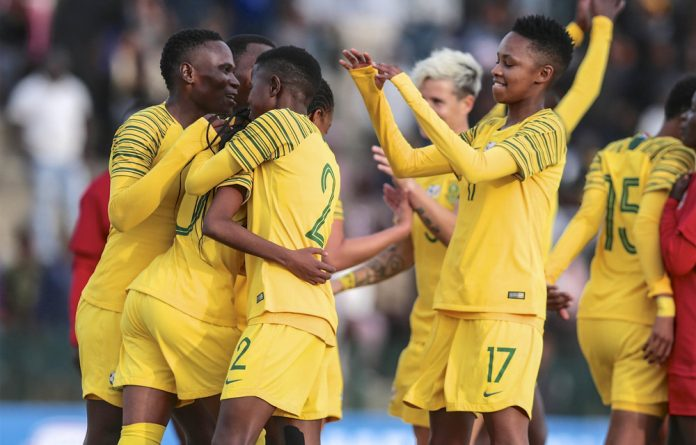 South Africa's national women's football team is doing well