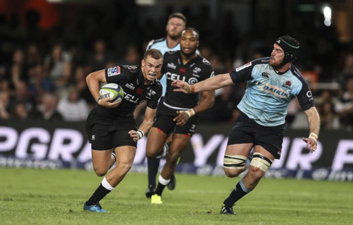 Wanted man: Curwin Bosch of the Sharks will be under pressure to perform well against the Lions this weekend. The 19-year-old has impressed selectors with his form to date.