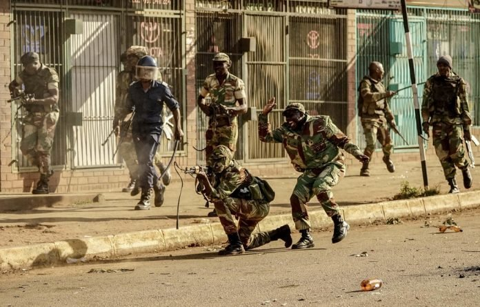 The current unrest takes place against the backdrop of worsening economic hardship in the country.