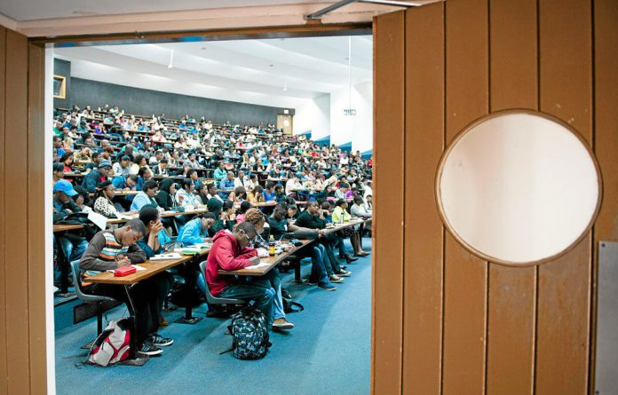 Full house: Increasing student numbers at the University of Johannesburg and others