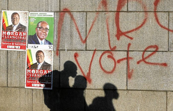 Shadows on the wall: No political party in Zimbabwe can afford to be complacent about an easy victory.