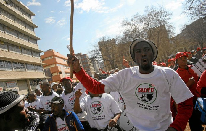 The NUM has recommended to the commission that the police and the NPA should investigate anyone suspected of being involved in criminal behaviour during the strike.