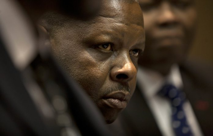 The alleged incident is traced back to a complaint laid by the full Constitutional Court Bench