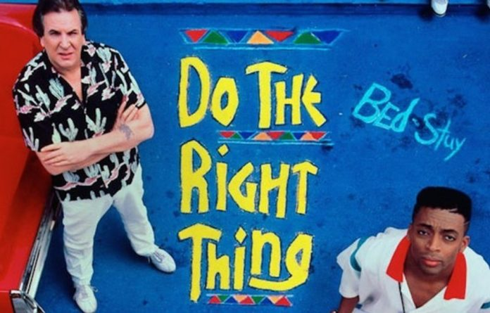 """""""Do The Right Thing"""" was a challenge to Hollywood's cultural hegemony. Spike Lee fought to get the story told on his terms"""