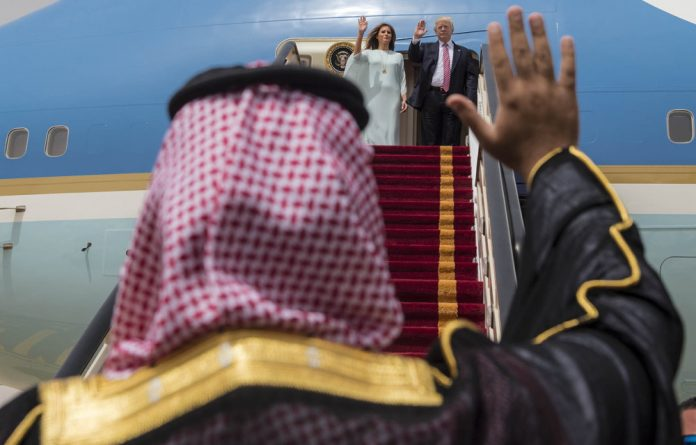 Ally: Donald Trump's Saudi trip may have implied his support for the Qatar blockade.
