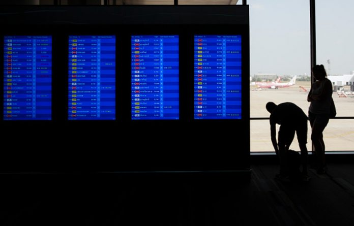 The Kuwait Airways flight departed Bangkok as scheduled