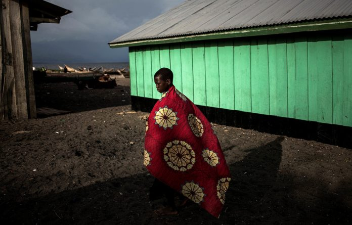 Displaced Congolese