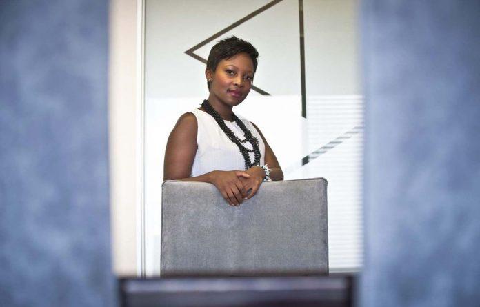 Thabiso Siswana balances her corporate job with her sangoma training.