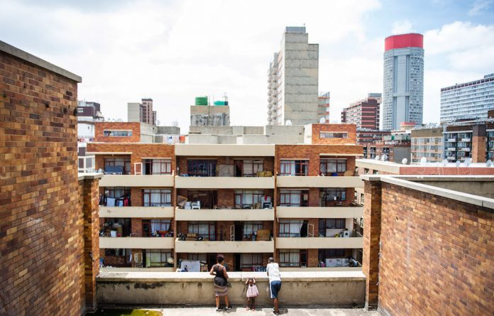 """Down and out: Residents of a Berea building face eviction or """"temporary"""" relocation. Photos: Delwyn Verasamy"""