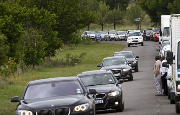 Superintendent Isaac Mahamba said the nine allegedly formed a contingent that used private vehicles illegally fitted with police blue lights