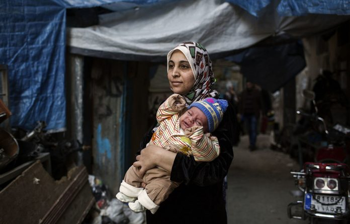 MSF's maternity unit in Shatila refugee camp in Beirut treats thousands of Syrian women who have fled the war across the border.