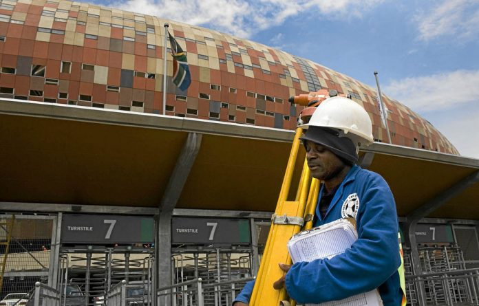 Soccer City was one of the projects alleged to be 'fixed' in a construction cartel.