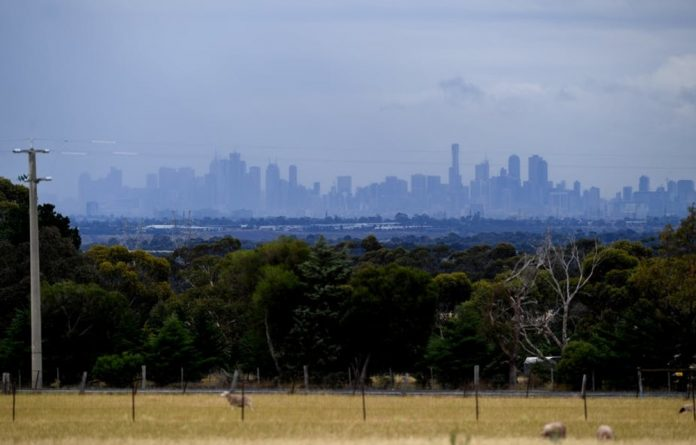 The Melbourne skyline. Water saving habits adopted during a prolonged drought that ended in 2009 are still followed.