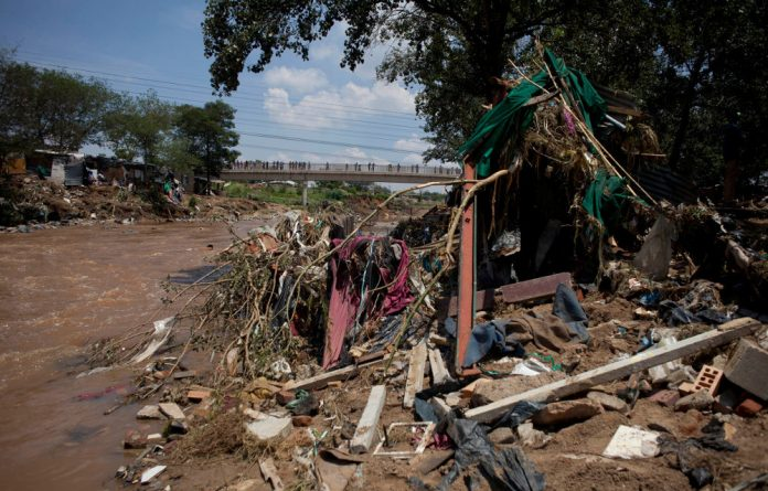 People living in the Setswetla settlement in Alexandra have begun the process of rebuilding their homes after 42 shacks were destroyed in a flood on Wednesday.