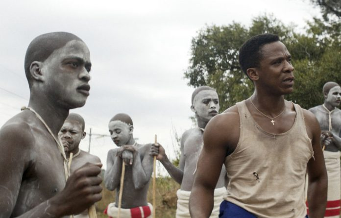 Tale of transition: A scene from Inxeba. The film's exploration of Xhosa initiates brings culture