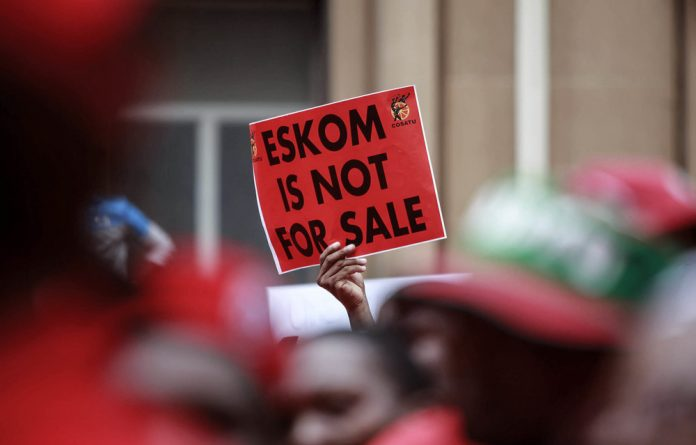 Power struggle: Eskom believes it may need the help of the police