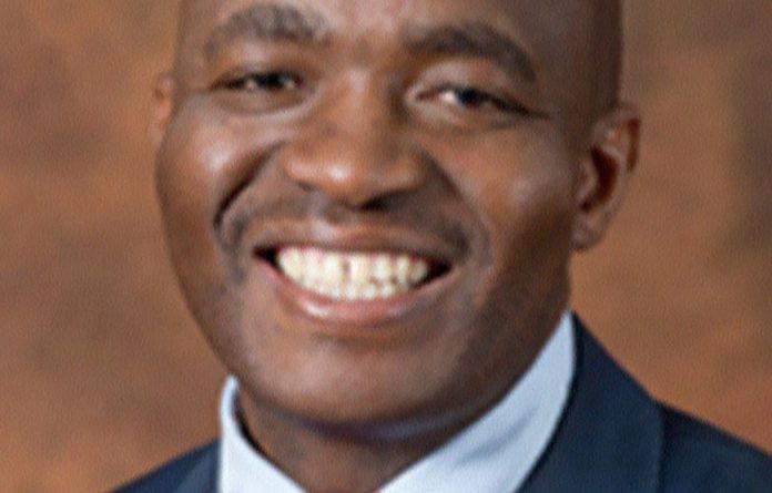 Comedian Loyiso Gola.